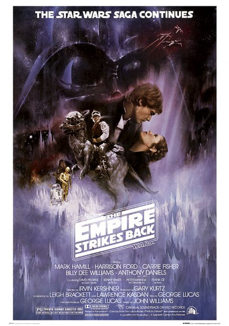 Image for Star Wars The Empire Strikes Back Poster