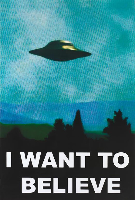 Image for The X-Files I Want Believe Poster