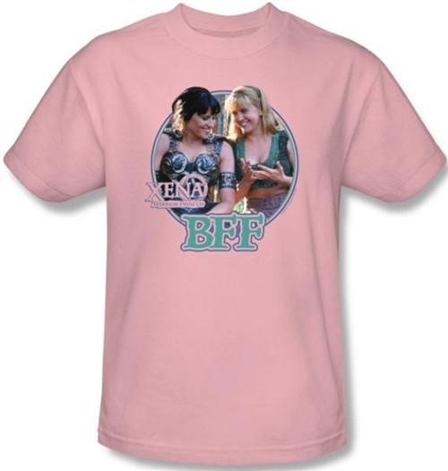Image for Xena Warrior Princess BFF T-Shirt