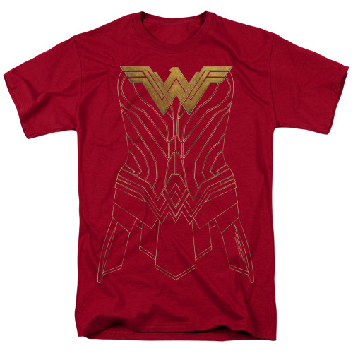 Image for Wonder Woman Movie T-Shirt - Armor Outline