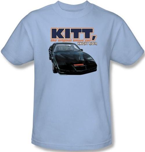 Image Closeup for Knight Rider KITT, the Original Smart Car T-Shirt