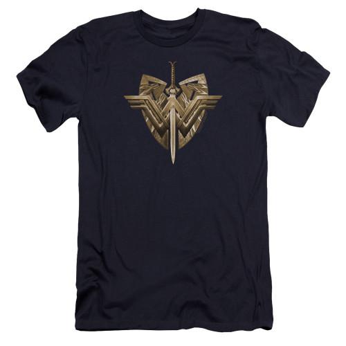 Image for Wonder Woman Movie Premium Canvas Premium Shirt - Sword Emblem