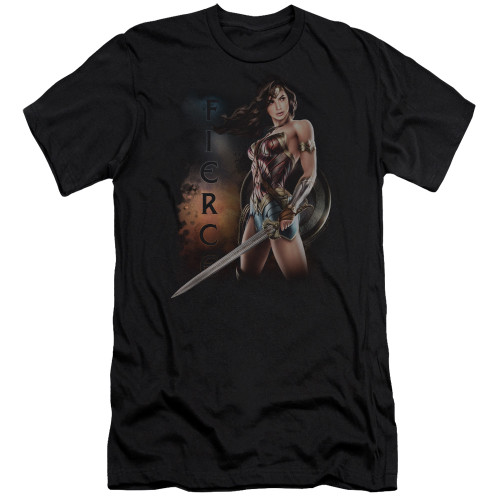Image for Wonder Woman Movie Premium Canvas Premium Shirt - Fierce