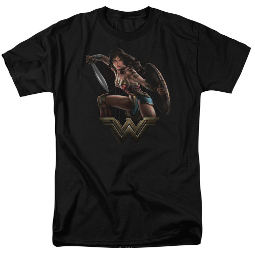 Image for Wonder Woman Movie T-Shirt - Fight