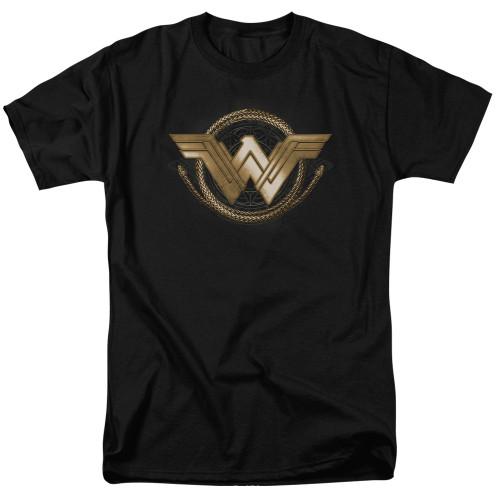 Image for Wonder Woman Movie T-Shirt - Lasso Logo