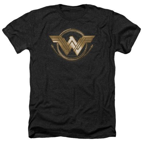Image for Wonder Woman Movie Heather T-Shirt - Lasso Logo