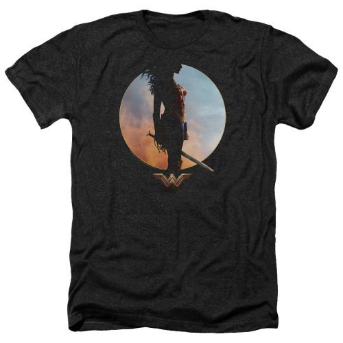 Image for Wonder Woman Movie Heather T-Shirt - Wisdom and Wonder