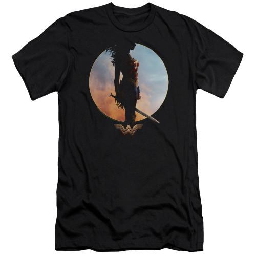 Image for Wonder Woman Movie Premium Canvas Premium Shirt - Wisdom and Wonder