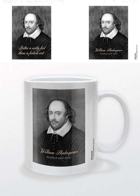 Image for William Shakespeare Witty Quotes Coffee Mug