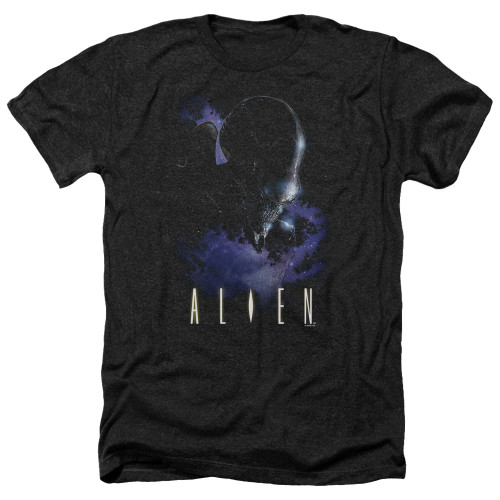 Image for Alien Heather T-Shirt - In Space