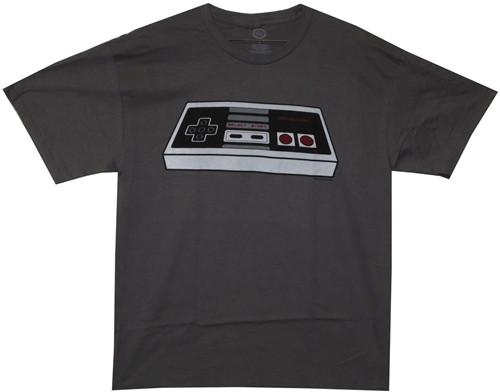 Image Closeup for Nintendo Controller T-Shirt