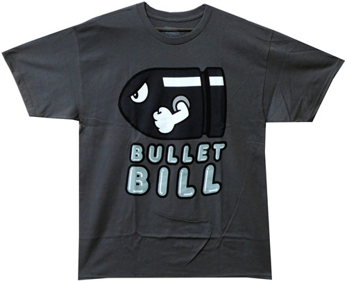 Image Closeup for Bullet Bill T-Shirt