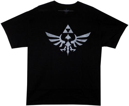 Image Closeup for Legend of Zelda Twilight Princess Logo T-Shirt