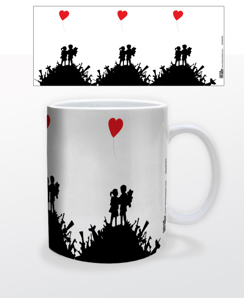 Image for Heart Balloon Coffee Mug