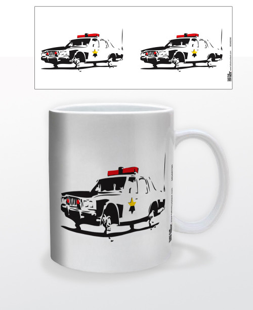 Image for Cop Car Coffee Mug