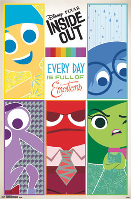 Image for Inside Out Poster - Grid