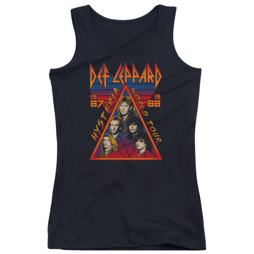 Image for Def Leppard Girls Tank Top - Hysteria Tour