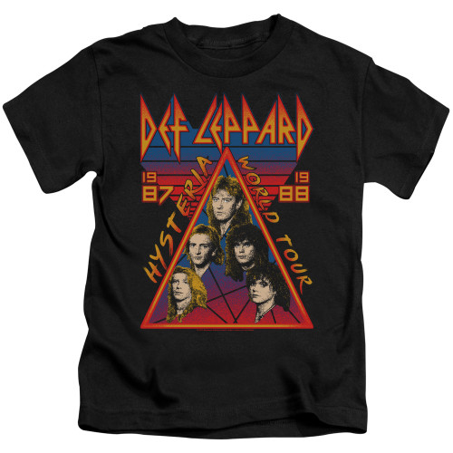 Image for Def Leppard Hysteria Tour Kid's T-Shirt