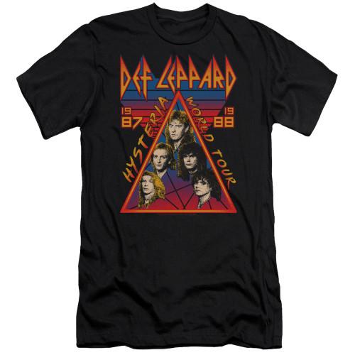 Image for Def Leppard Premium Canvas Premium Shirt - Hysteria Tour