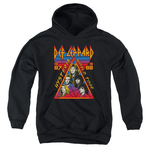 Image for Def Leppard Youth Hoodie - Hysteria Tour
