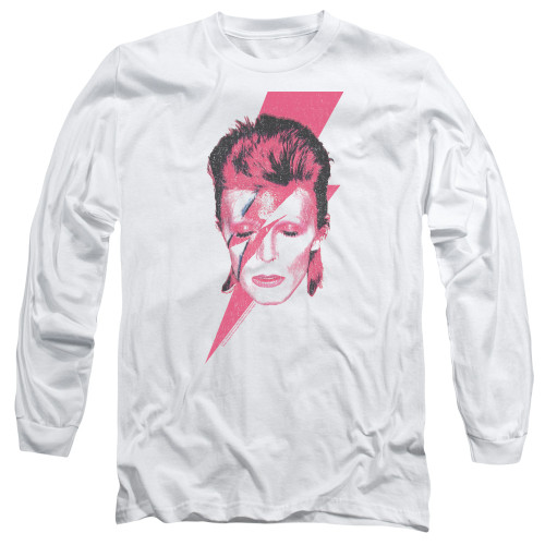 Image for David Bowie Long Sleeve Shirt - Aladdin Sane