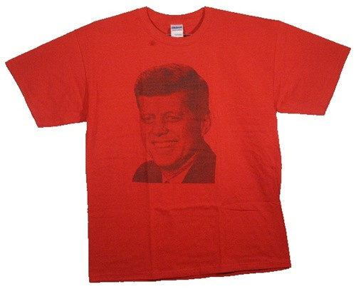 Image Closeup for President Kennedy JFK T-Shirt