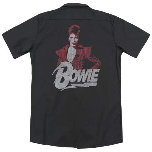 Image for David Bowie Dickies Work Shirt - Diamond Dave