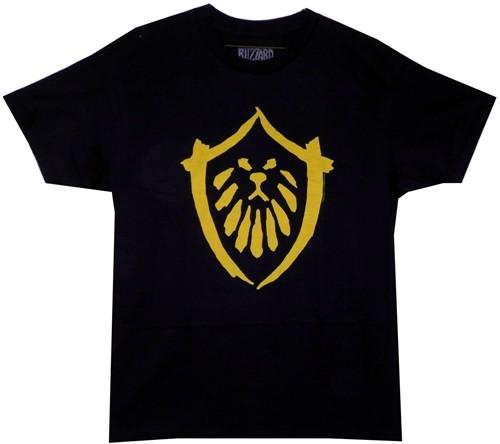Image for World of Warcraft Mists of Pandaria Alliance Logo T-Shirt