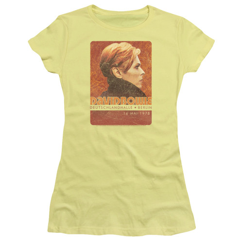 Image for David Bowie Girls T-Shirt - Stage Tour Berlin 78