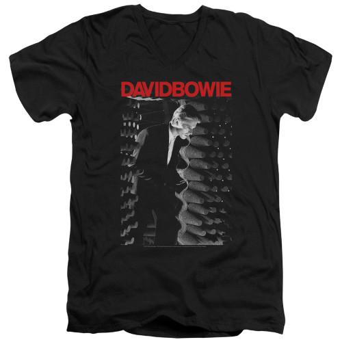 Image for David Bowie V Neck T-Shirt - Station to Station