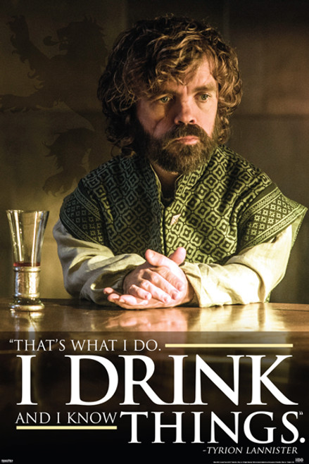 Image for Game of Thrones Poster - Tyrion Dri