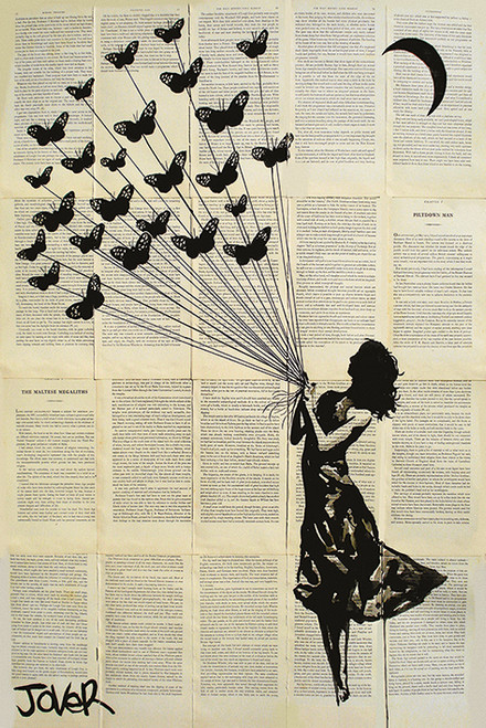 Image for Jover Poster - Butterflying
