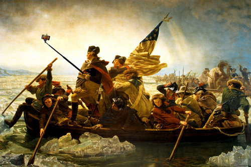 Image for Washington Crossing the Delaware Poster