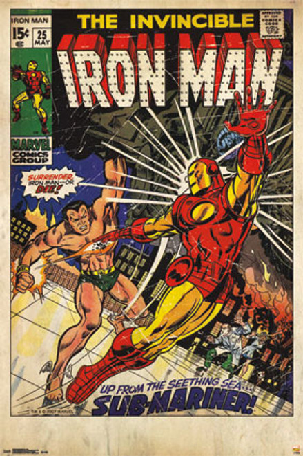 Image for Iron Man Poster - Iron Man #25