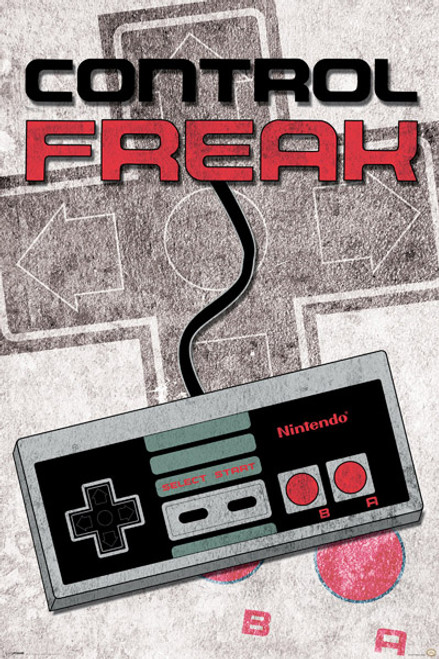 Image for Nintendo Poster - Control Freak