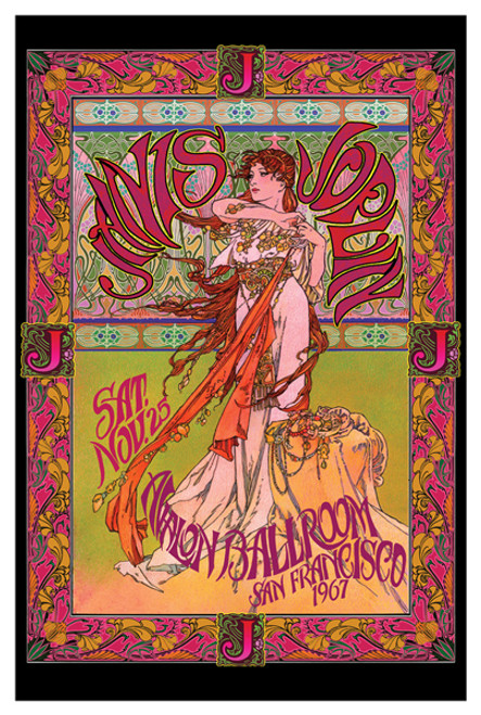 Image for Janis Joplin Poster - Masse