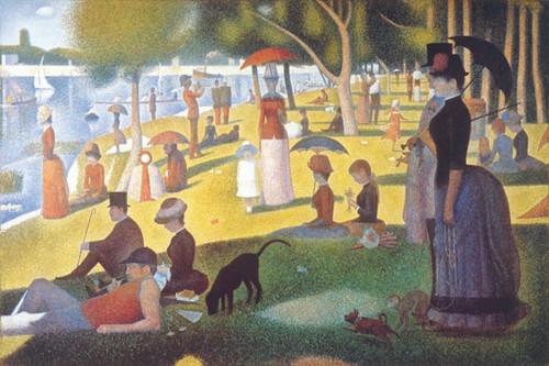 Image for Seurat Poster - La Grande Jatte