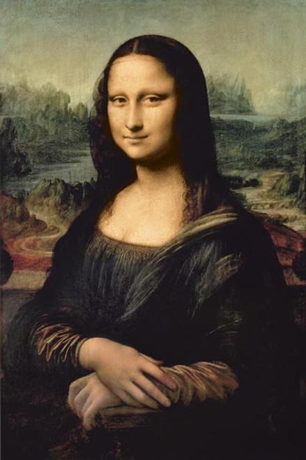 Image for DaVinci Poster - Mona Lisa