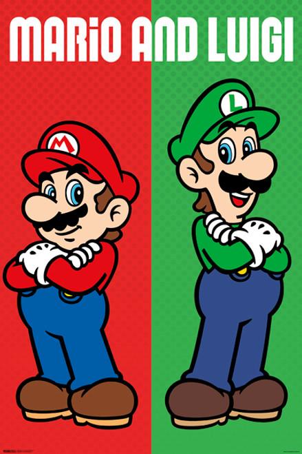 Image for Mario & Luigi Poster