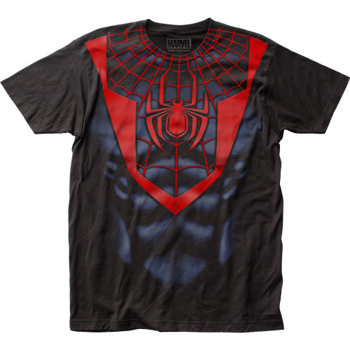 Image for Spider-Man T-Shirt - Morales Suit Big Print