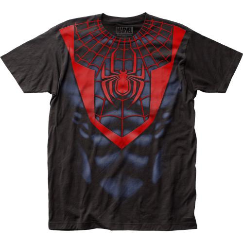 Image for Spider-Man T-Shirt - Morales Suit Big Print