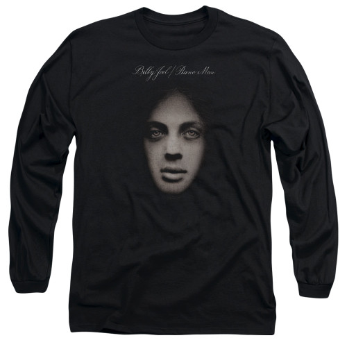 Image for Billy Joel Long Sleeve Shirt - Piano Man Cover