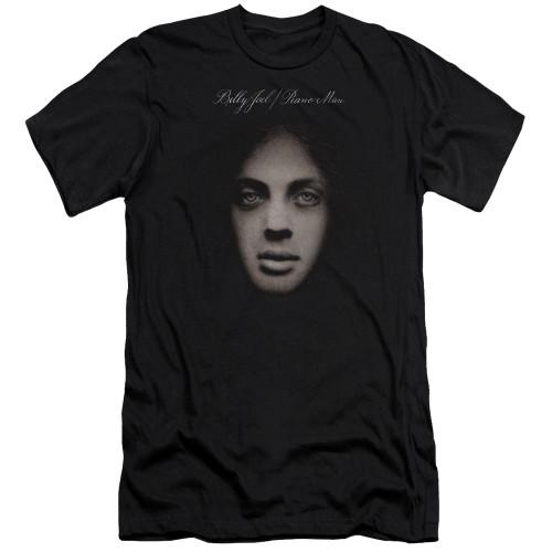 Image for Billy Joel Premium Canvas Premium Shirt - Piano Man Cover