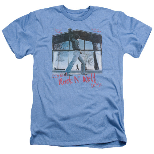 Image for Billy Joel Heather T-Shirt - Glass Houses