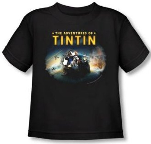 Image for The Adventures of Tintin Journey Toddler T-Shirt