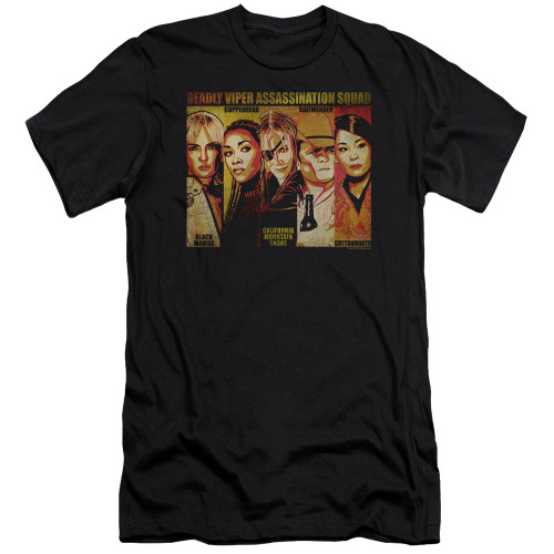 Image for Kill Bill Premium Canvas Premium Shirt - Deadly Viper Assassination Squad