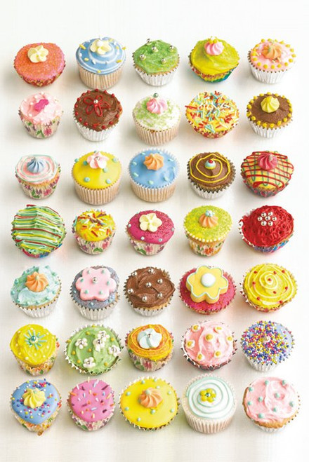 Image for Howard Shooter Poster - Cupcakes