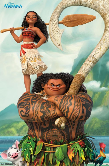 Image for Moana Poster - Pose