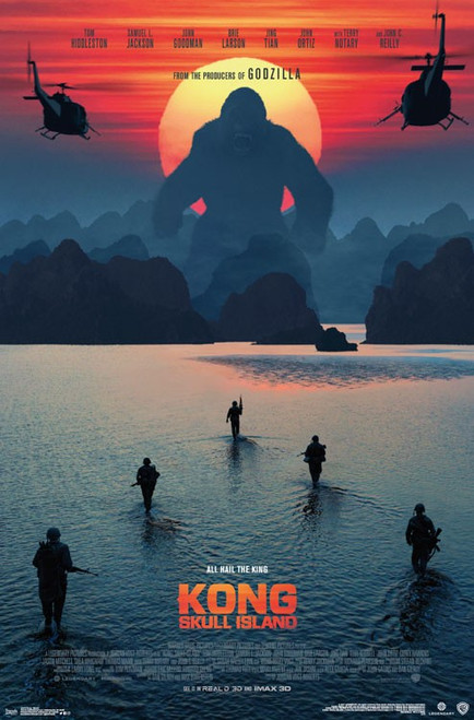 Image for Kong Poster - Beach