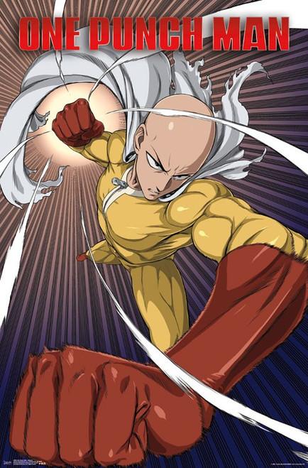 Image for One Punch Man Poster -Saitama